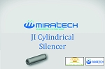 JI Cylindrical Silencer – Industrial Grade Series