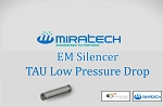EM Silencer -TAU Low Pressure Drop
