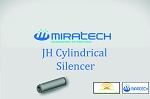 JH Cylindrical Silencer – Hospital Grade Series
