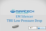 EM Silencer - TBU Low Pressure Drop