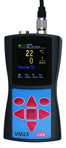 Vibration / RPM / Temperature Meter